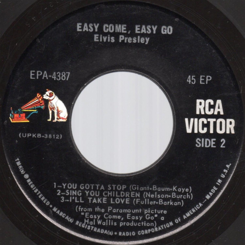 EASY COME, EASY GO Epa-4387d4dz8k