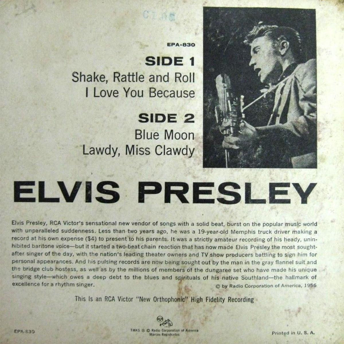 Presley - ELVIS PRESLEY Epa830bfdr5d