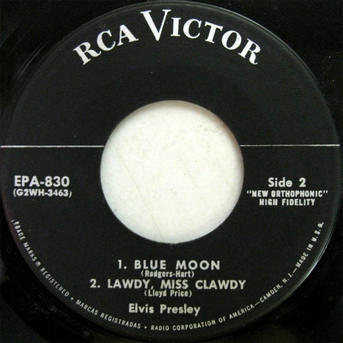 Presley - ELVIS PRESLEY Epa830dxnrqx