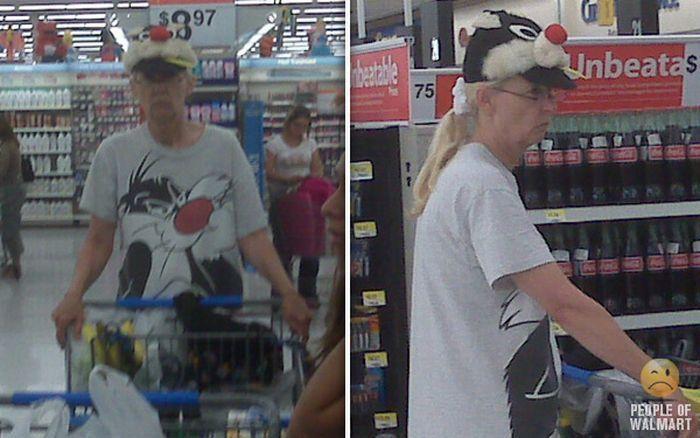 Najdziwniejsi klienci z WalMart #2 53