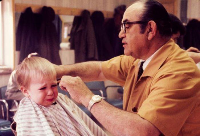 Dzieci u fryzjera 1