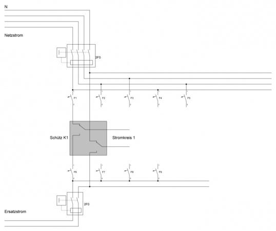 Mechanischer Umschalter gegen Schützschaltung tauschen • Seite 2 ...