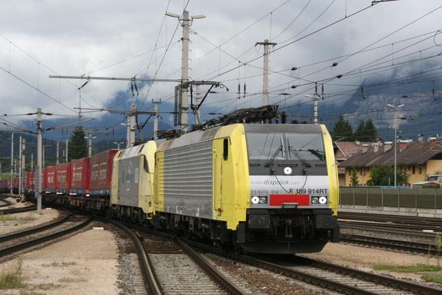 ES 64 F4-014 + ES 64 U2-001 Wörgl Hbf