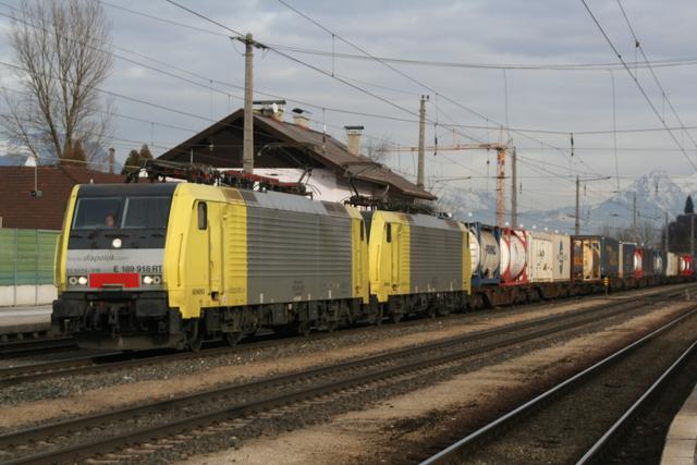 ES 64 F4 018 + ES 64 F4-015 Brixlegg