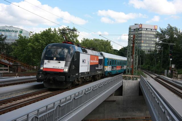 ES64 U2-016 Einfart Hamburg Dammtor