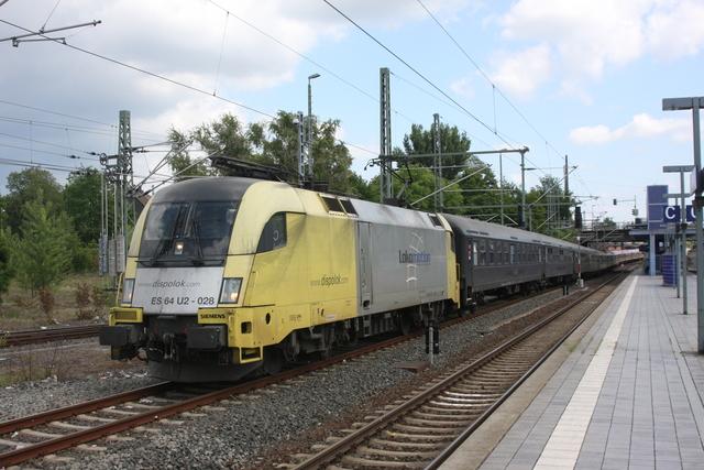 ES 64 U2-028 Einfahrt Hannover-Nordstadt