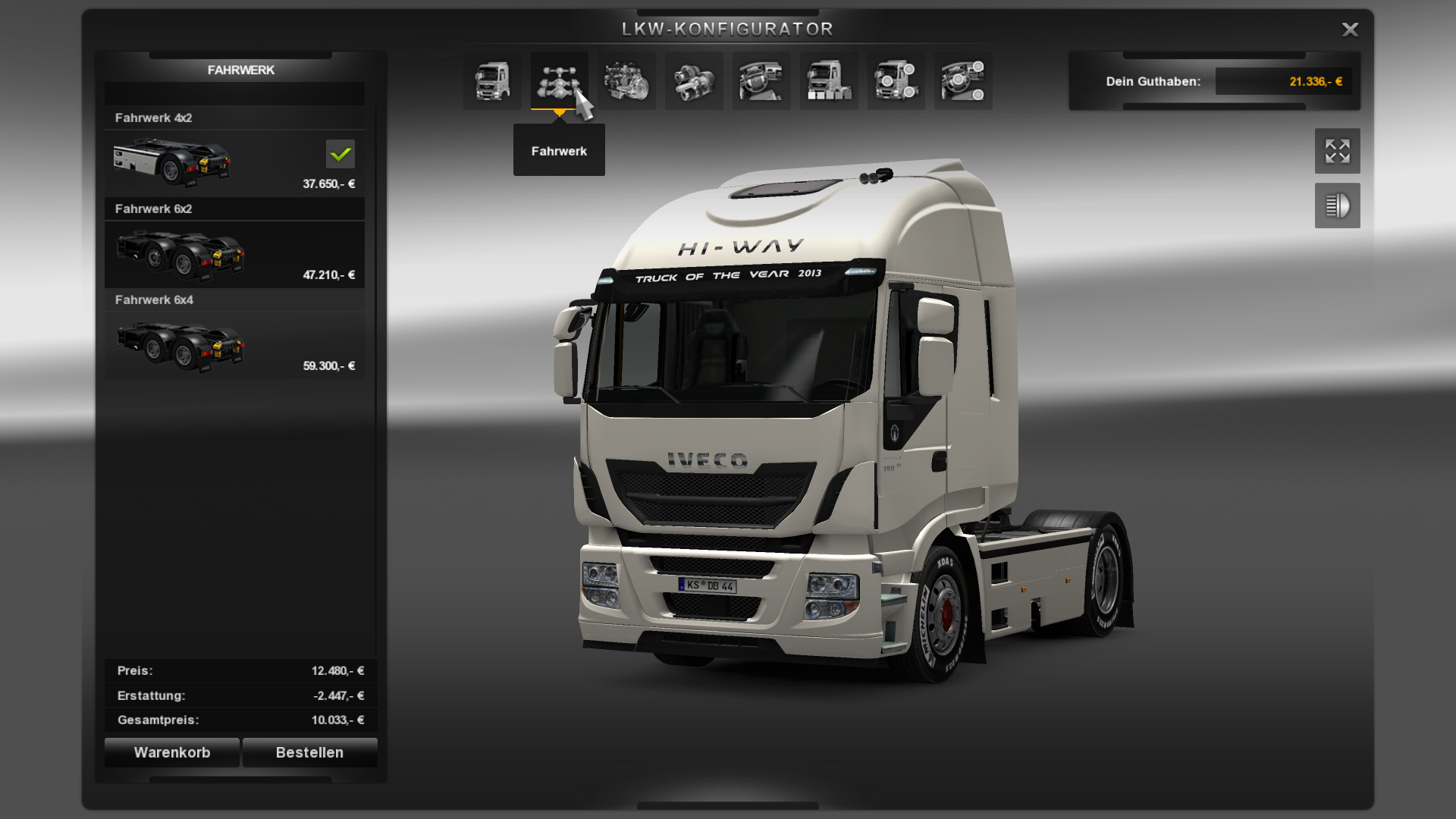 [ETS2] All open Iveco Hiway Ets2_000077kagn