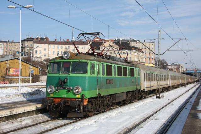 EU07-239 Szczecin Glowny