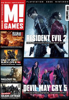 M! Games Magazin (Playstation XBox Nintendo) November No 11 2018