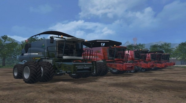 Case IH Harvesters Pack