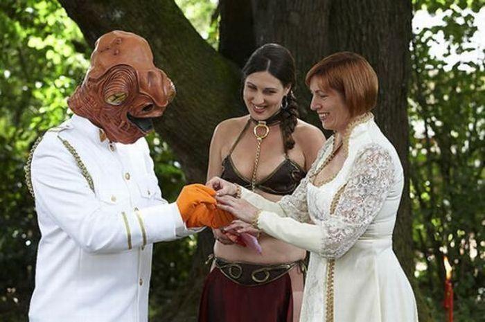 Najdziwniejsze śluby #3 39