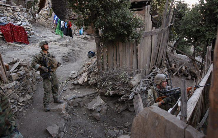 Zdjęcia z wojny w Afganistanie 35