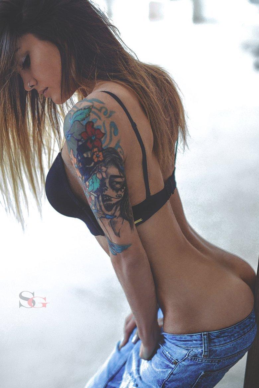 Dziewczyny z tatuażami #7 19