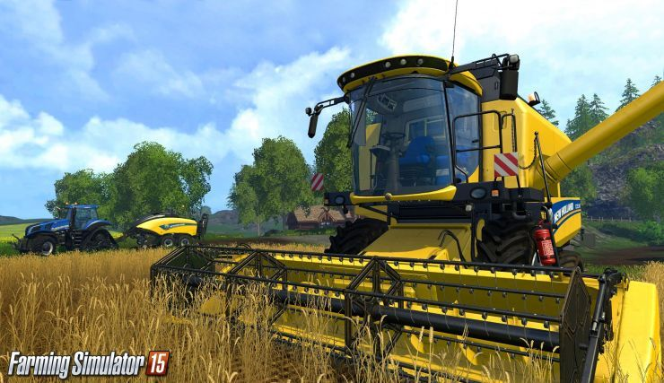 Farming Simulator 2015 – UPDATE 1.2 VERSION