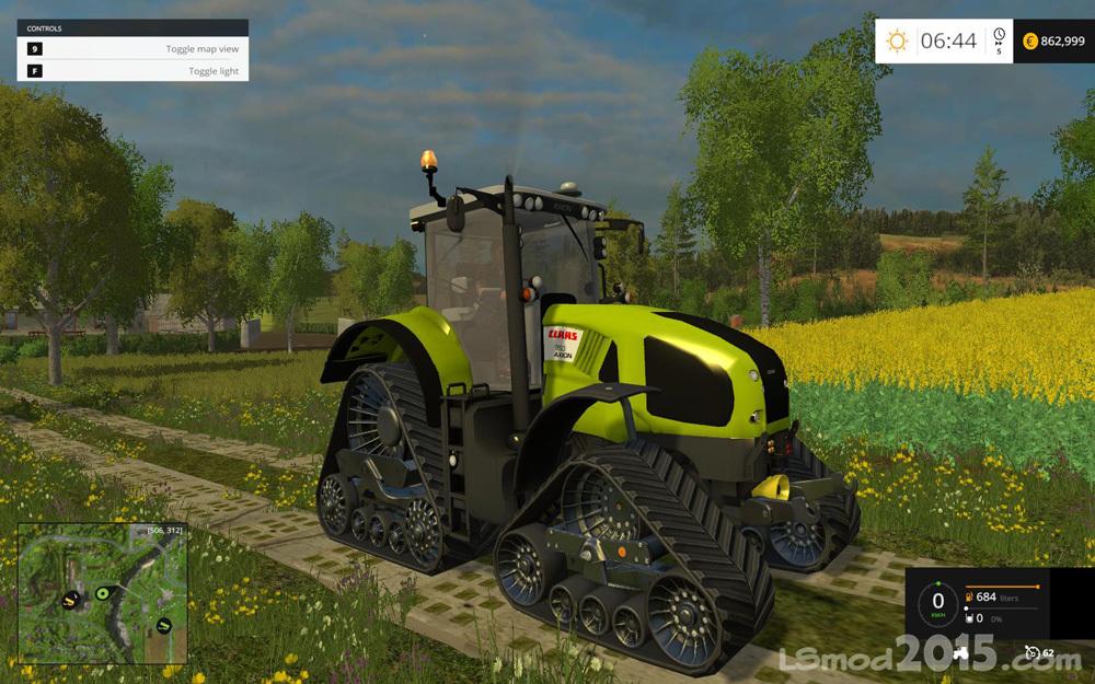 Claas Axion 950 Terra Trac