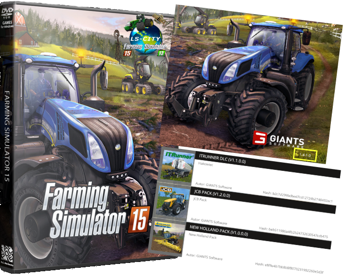 Farming Simulator: Gold Edition v 1.4.1 + DLC