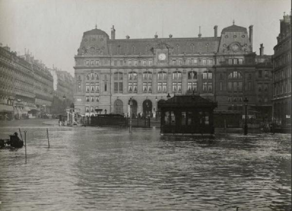 Wielka powódź w Paryżu 1910 29