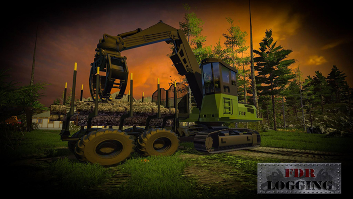 FDR Logging – Swing Forwarder FS15