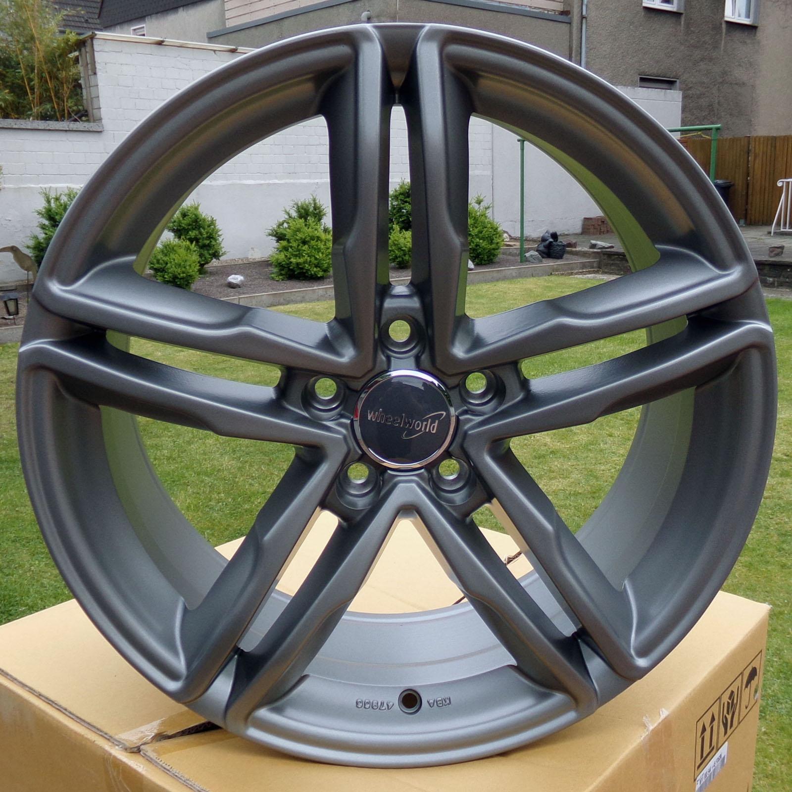 18 zoll alufelgen wheelworld wh11 f r audi a3 a4 mercedes. Black Bedroom Furniture Sets. Home Design Ideas