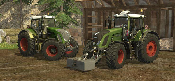Fendt 936 Vario SCR Top Pack
