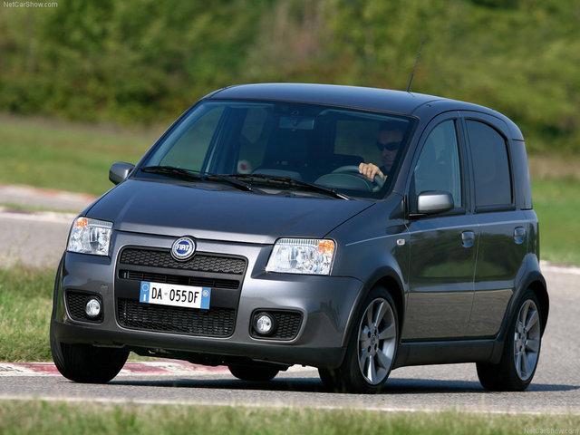 Фотографии автомобиля Fiat Panda 2006 года выпуска в высоком разрешении. .