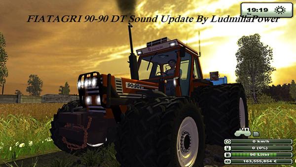 FIAT 90 90 DT Sound v 1.0 Update By LudmillaPower