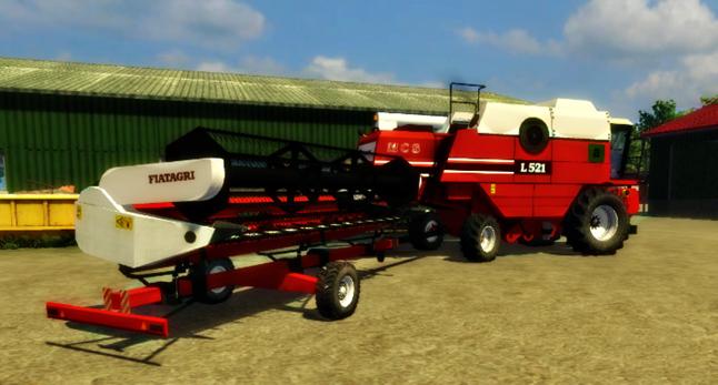 Fiatagri L521 MCS Pack v 1.0