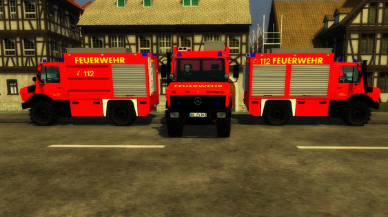 Fire Brigade Unimog 1450 v 1.0