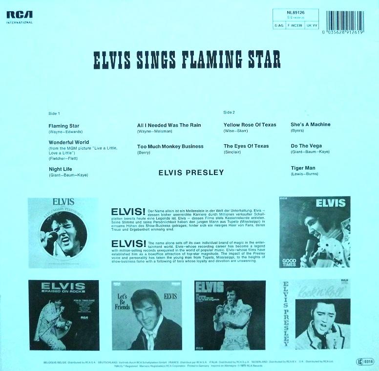 ELVIS sings FLAMING STAR Flamingstar84rckseitevjseu