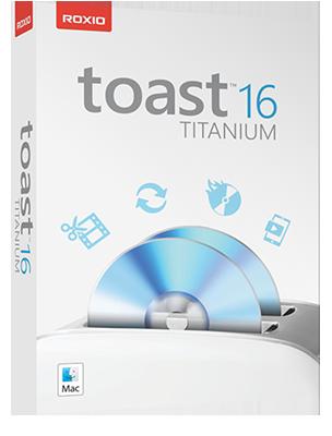 [MAC] Roxio Toast Titanium v16.1 Build 4867 Multi - ITA