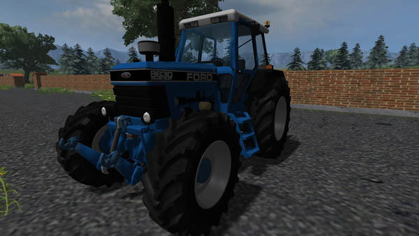 Farming Simulator 2013 Mods Ford-8630-4wd-v-5.0b1s8x