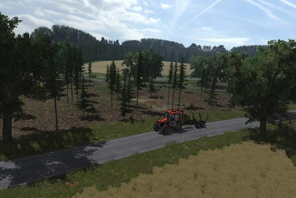 Forest Map v1.6 CHOPPED STRAW