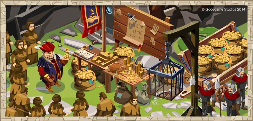 Resultado de imagen de goodgame empire apariencias de castillos