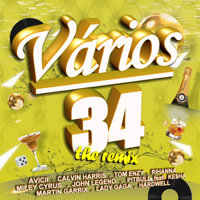 VA - Vários 34: The Remix (2013) .mp3 - 320kbps