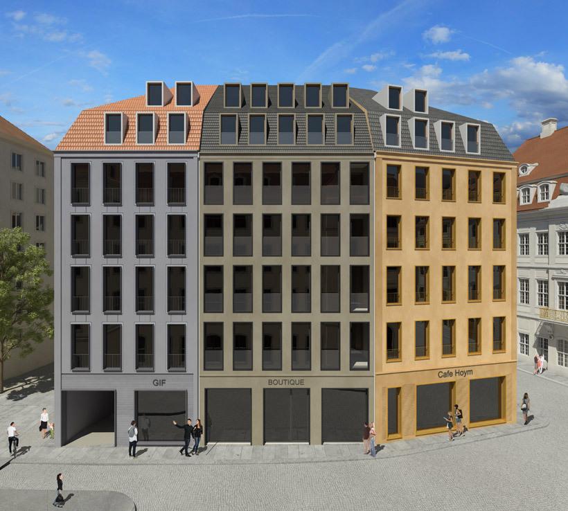 Fassade frontal  Deutsches Architektur-Forum - Einzelnen Beitrag anzeigen - Dresden ...
