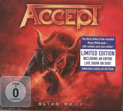 Accept - Blind Rage [Limited Edition + Japan Edition] (2014) .mp3 - 320kbps