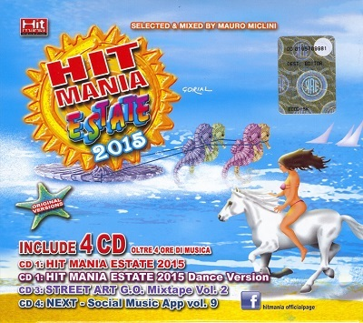 Hit Mania Estate 2015 [4CD] (2015).Mp3 - 320Kbps