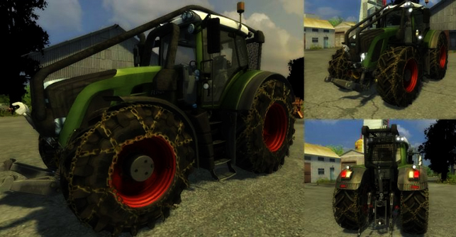 Fendt Vario 936 Forest Edition MR