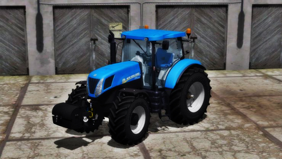 New Holland T7 220