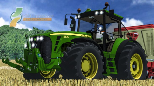 john deere 8530 powershift for farming simulator 2013 car interior design. Black Bedroom Furniture Sets. Home Design Ideas