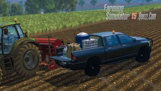 dodge ram v hicule de service v1 0 fs15 farming simulator 15. Black Bedroom Furniture Sets. Home Design Ideas