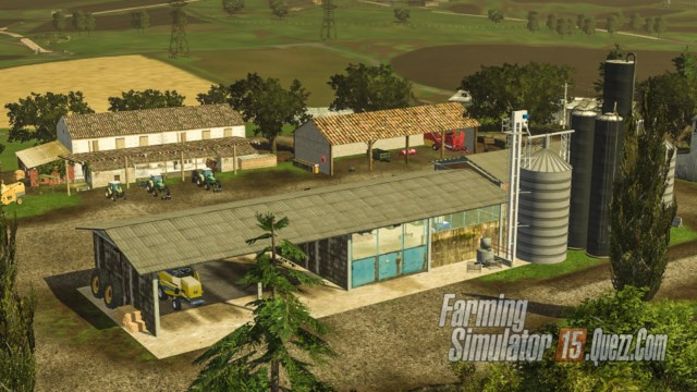 Map AgroNort V20 Pack FS15  Farming Simulator 15