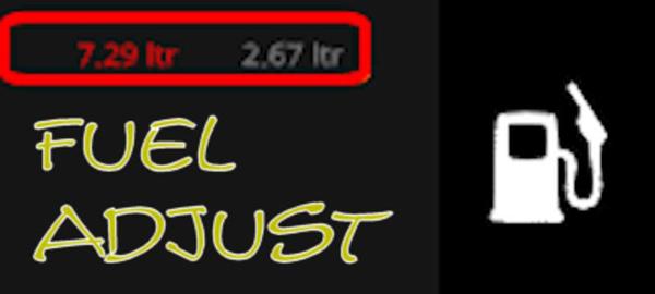 Fuel adjustment v5.15.7