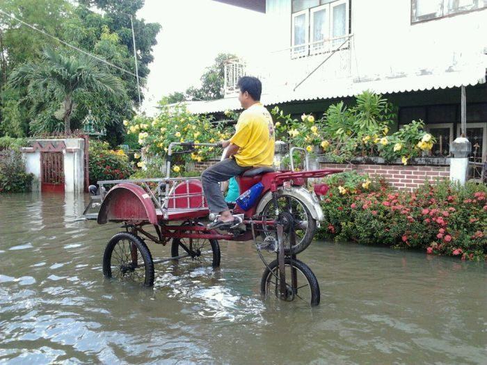 Tajskie sposoby na powódź 18