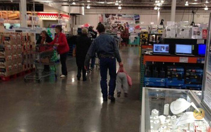 Najdziwniejsi klienci z WalMart #17 11