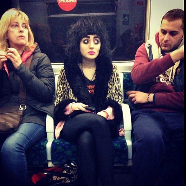 Najdziwniejsi pasażerowie metra 6