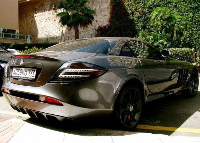 Najdroższe samochody w Księstwie Monako 13