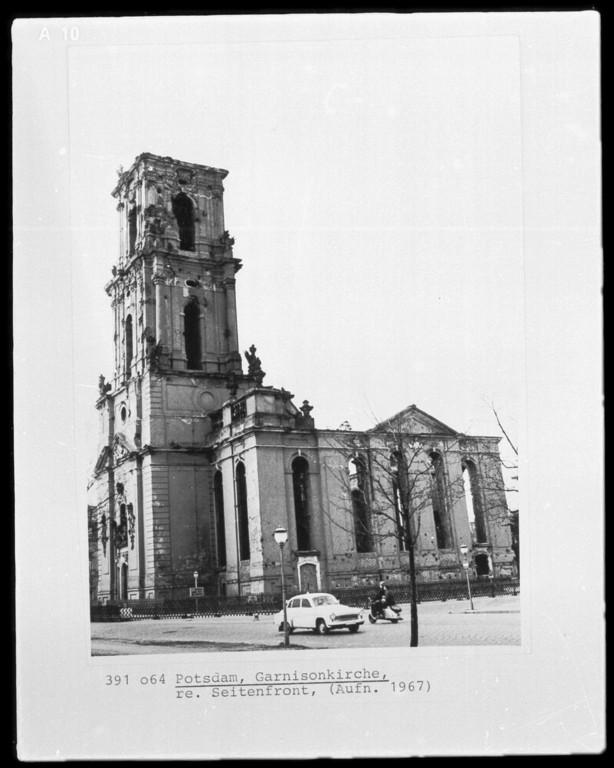 wiederaufbau garnisonkirche potsdam baubeginn