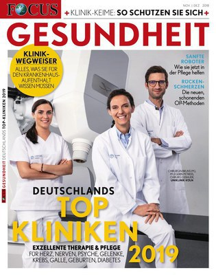 Focus Gesundheit Magazin November-Dezember No 53 2018