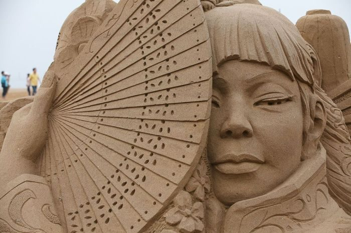 Rzeźby z piasku #4 5